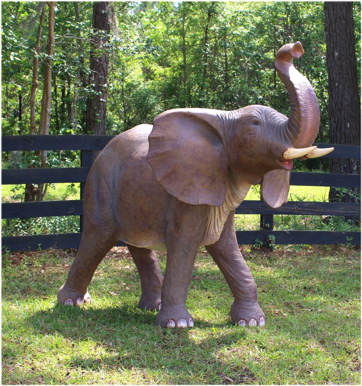 elephant fiberglass sculpture