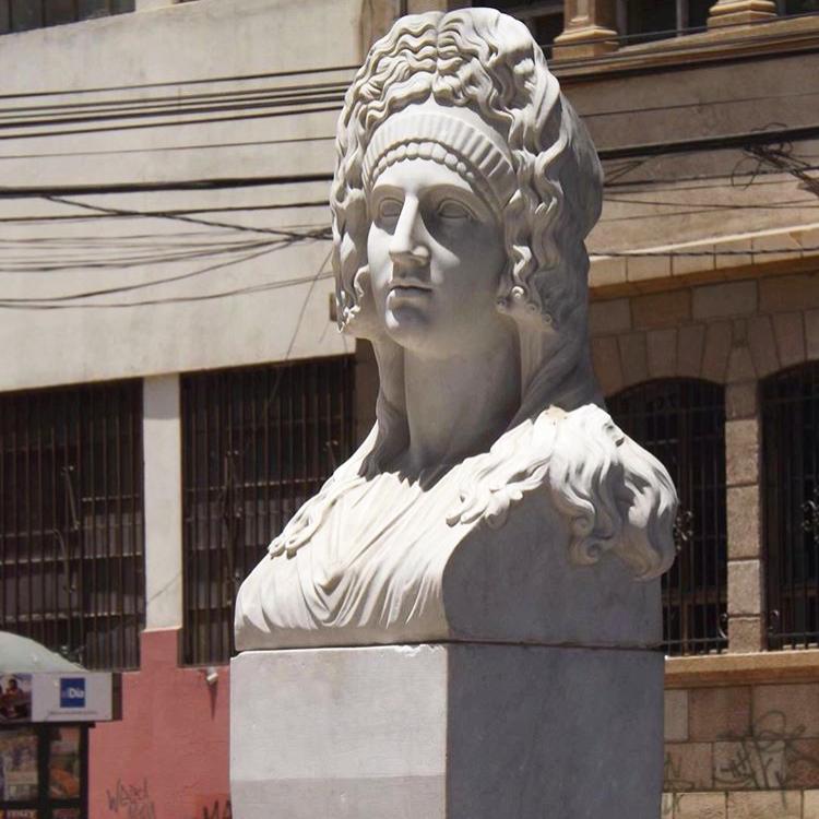Stone livia bust sculpture