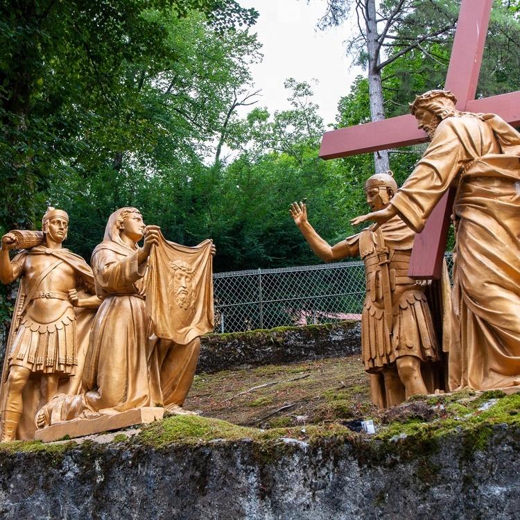 Bronze Religious sculpture