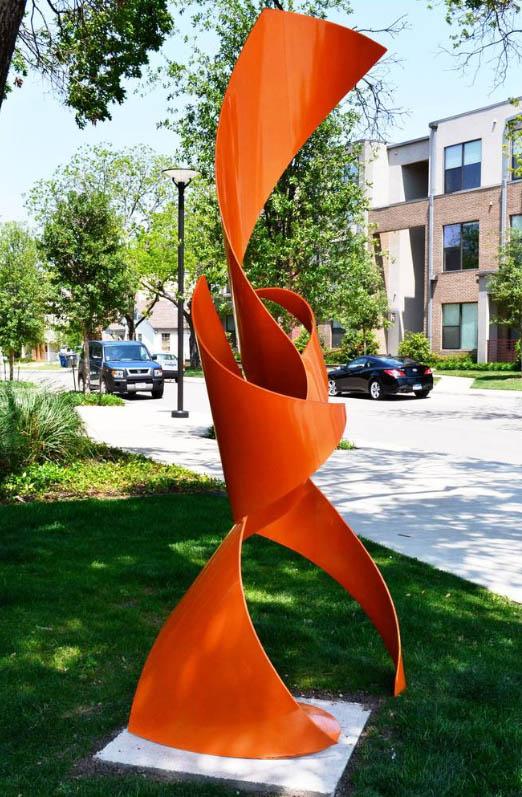 modern metal sculptures outdoor 2