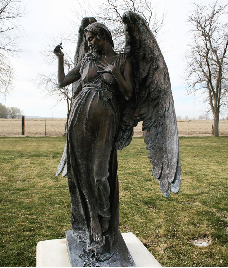 cemetery statues