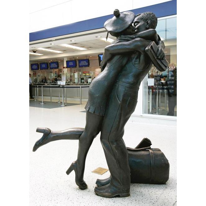 couple statues