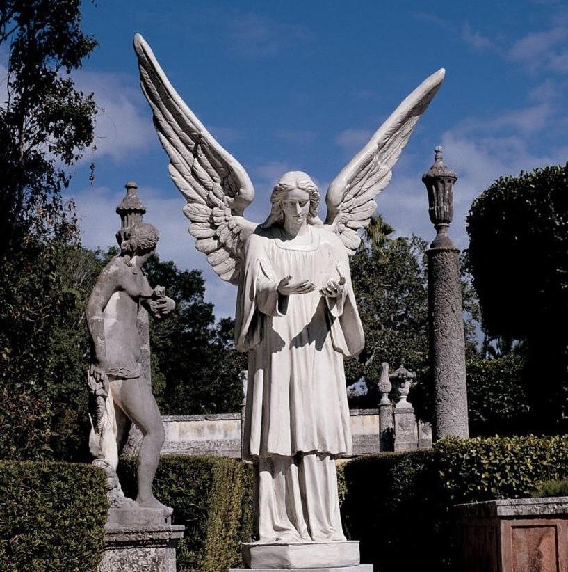statue ange marbre