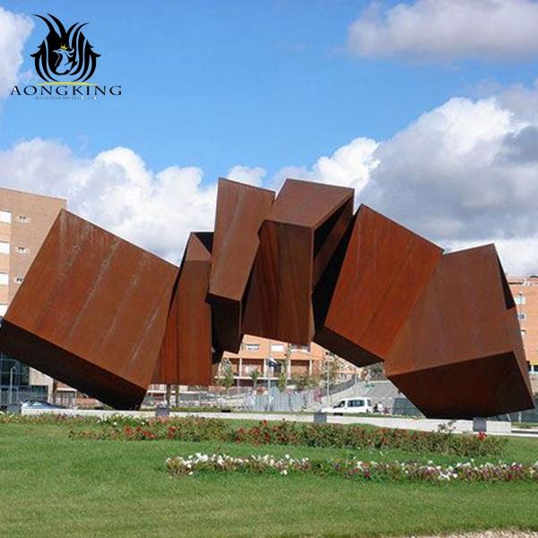 large rectangle sculpture
