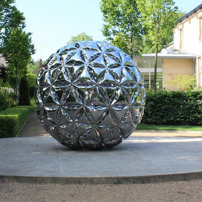 ball stainless steel sculpture