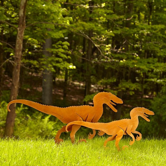 dinosaur garden sculpture