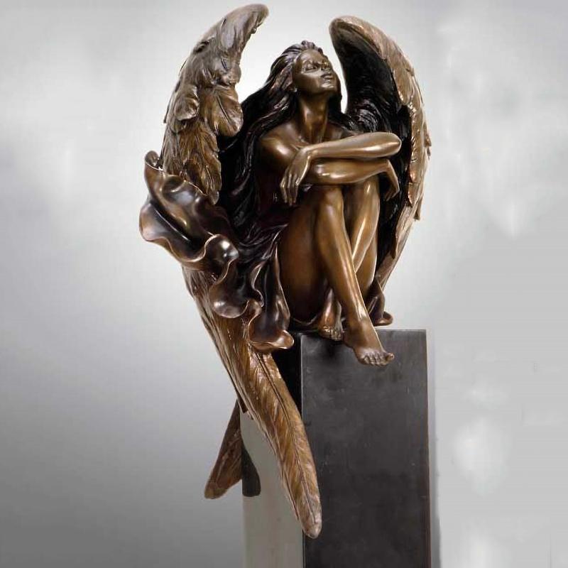 art angel bronze sculpture