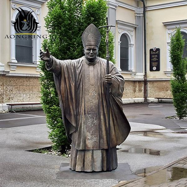 religious saint sculpture