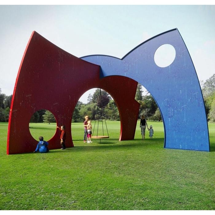 garden playing large sculpture