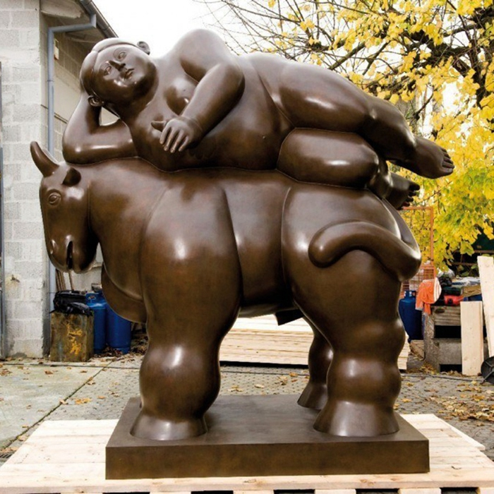 botero and horse statue