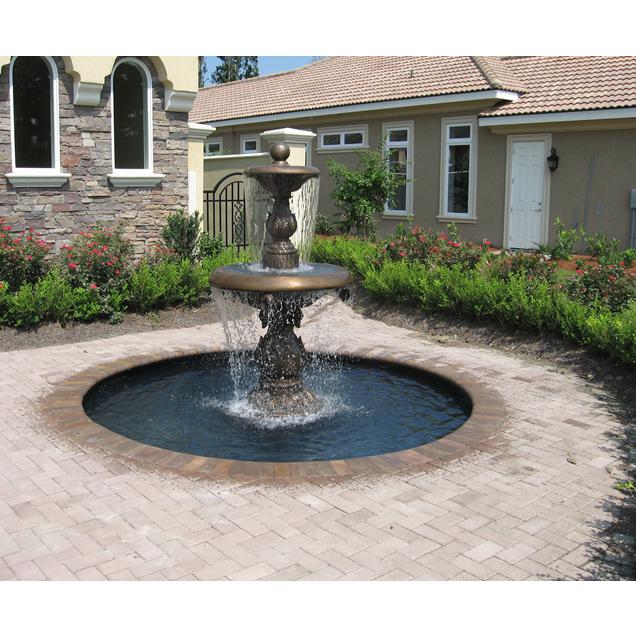 water fountain bronze
