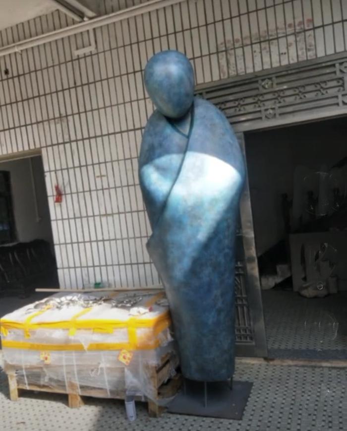 Abstract shaman statue