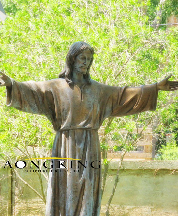 Christ the Redeemer life size statue