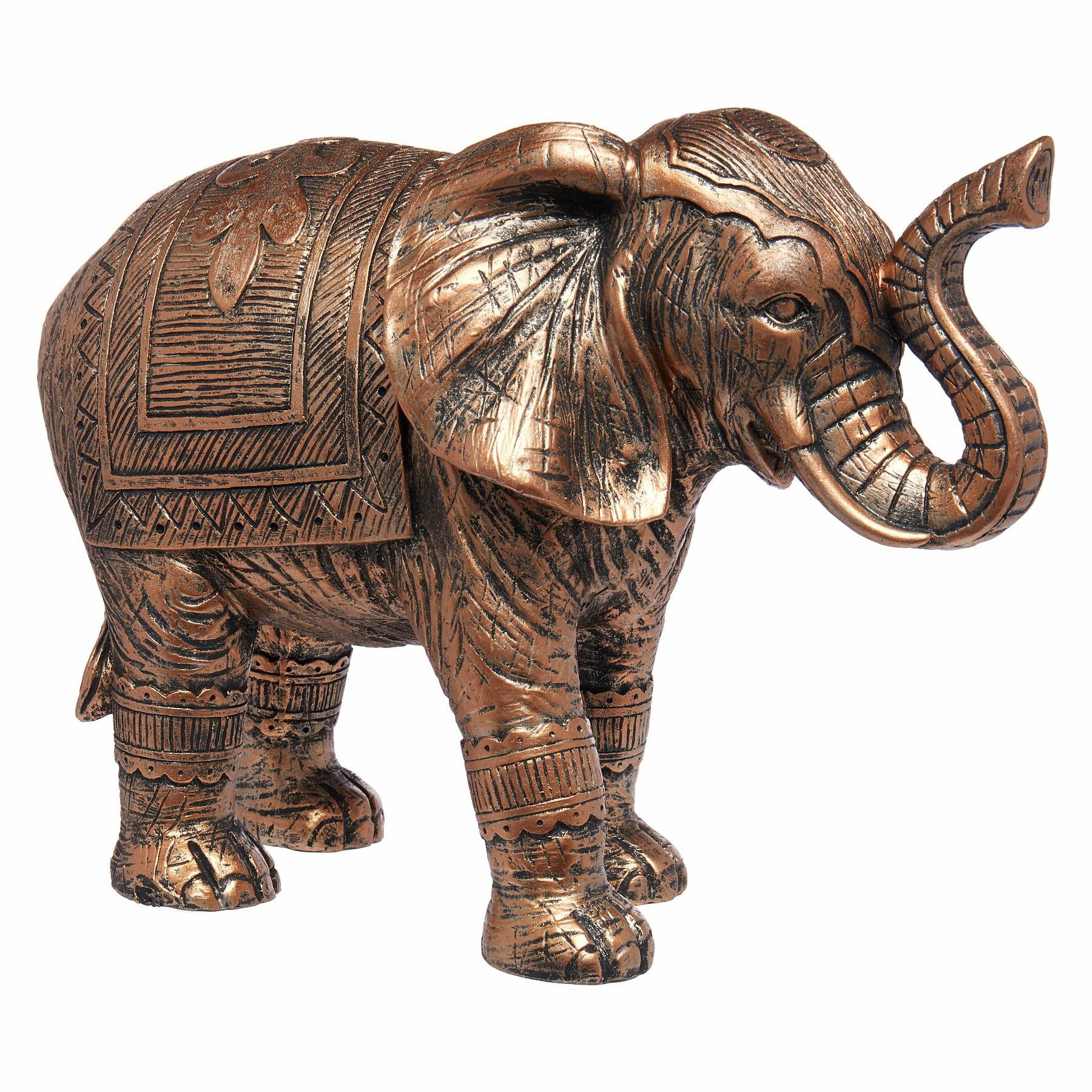 Elephant garden sculpture metal