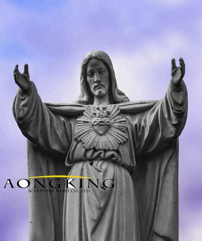 Jesus bronze statue