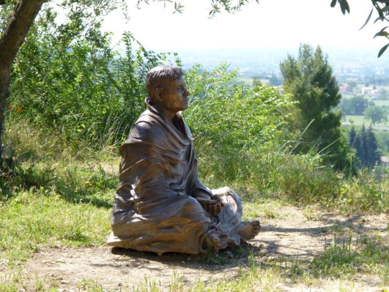 Park decoration statue