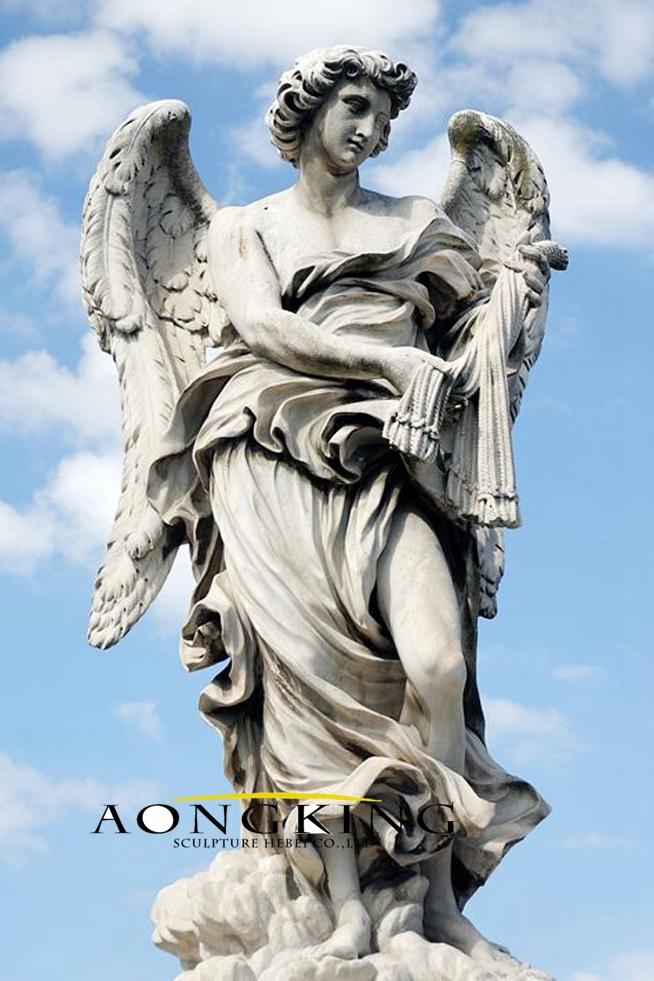 Angelo baroque statue