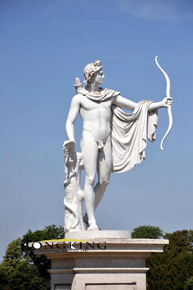Apollo life size statue