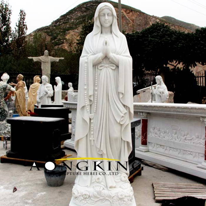 Life size mary statue