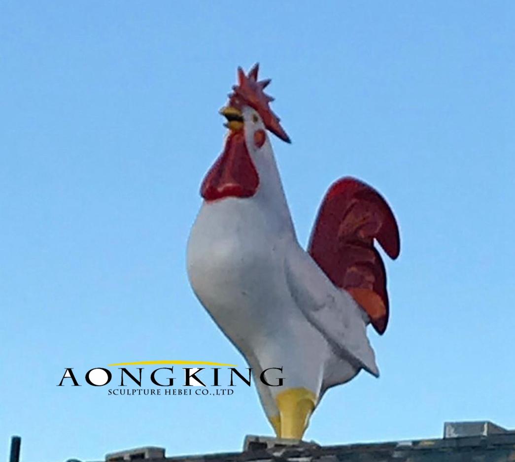 Poultry sculpture