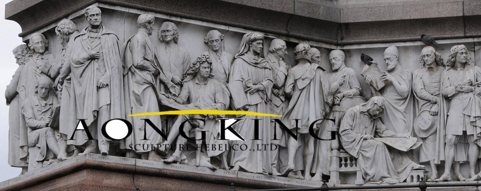 Relief of albert memorial