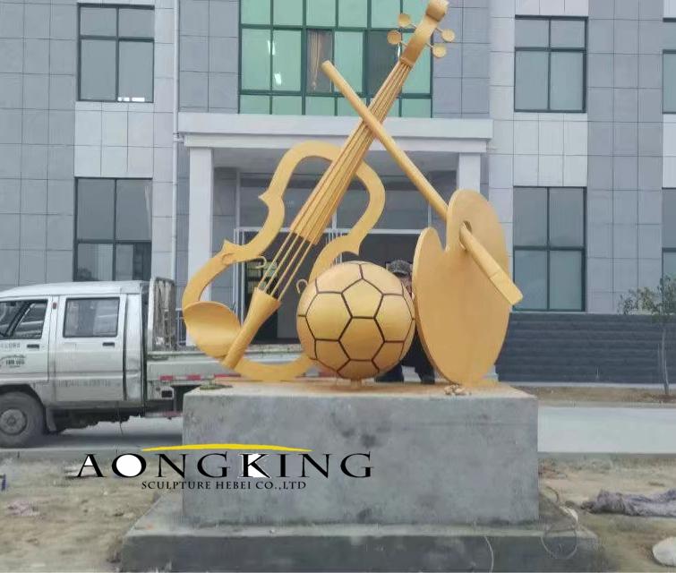 School decoration fiberglass sculpture