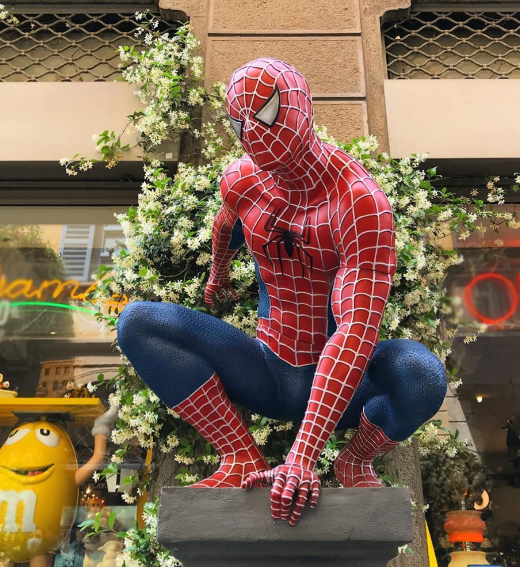 Spider-man art