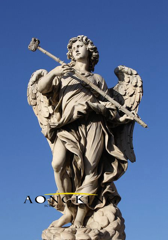 Statue of angel and the hammer rome wish list