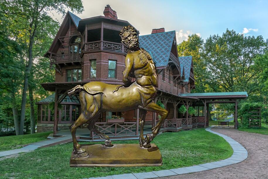 Bronze Centaur Statue