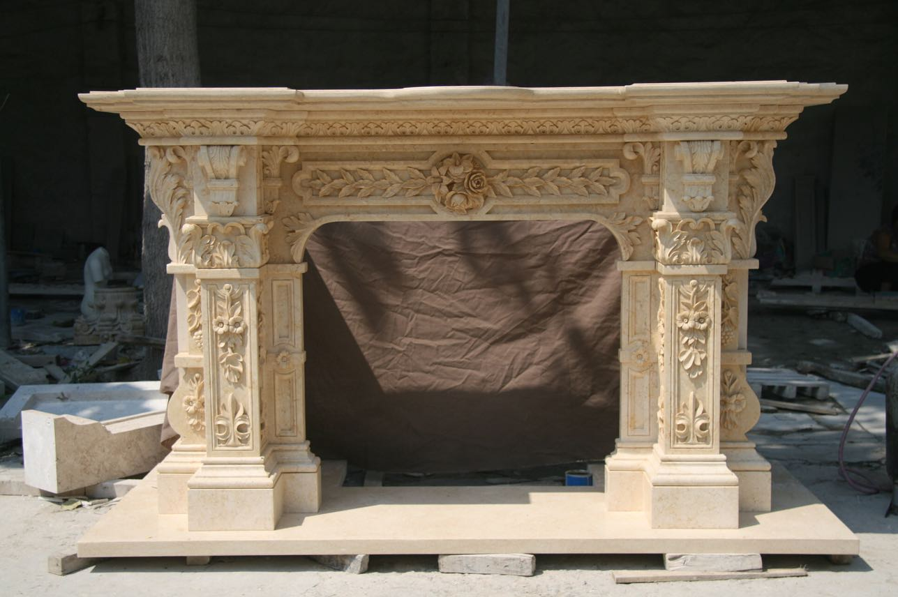 Fireplaces marble art