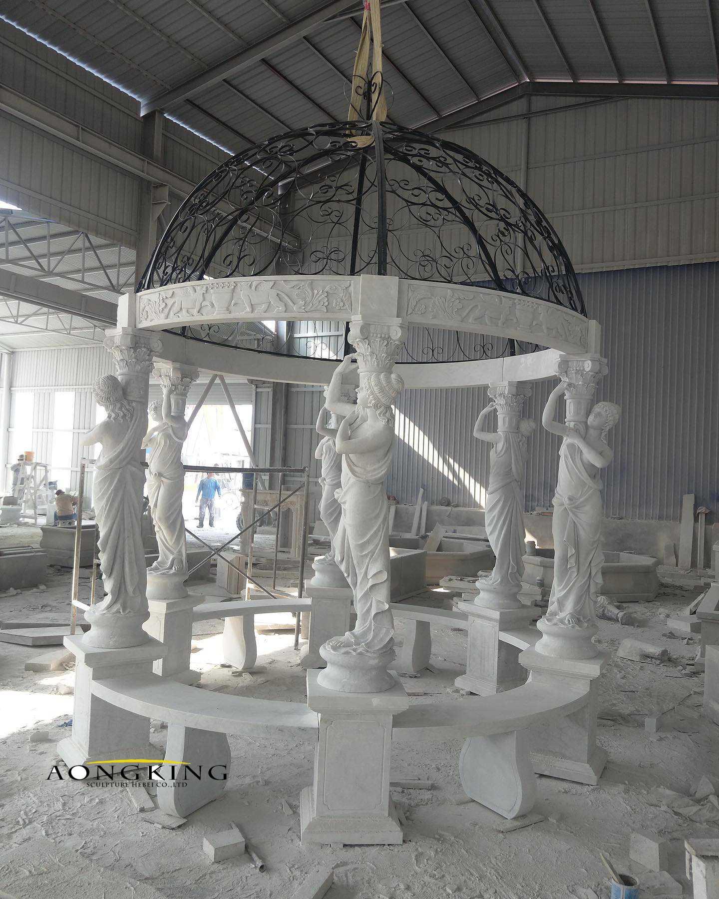 Gazebo marble