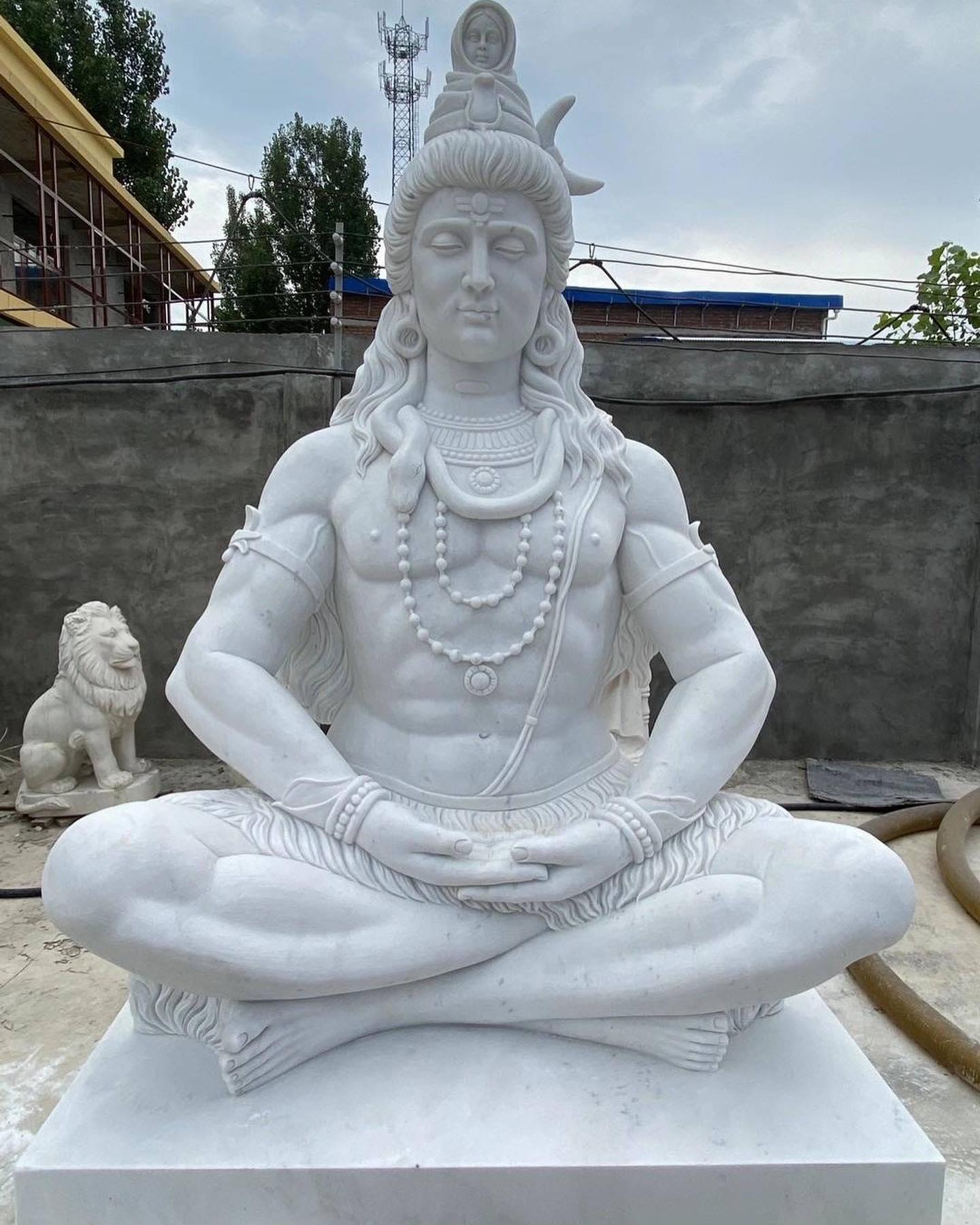 Shiva statue stone