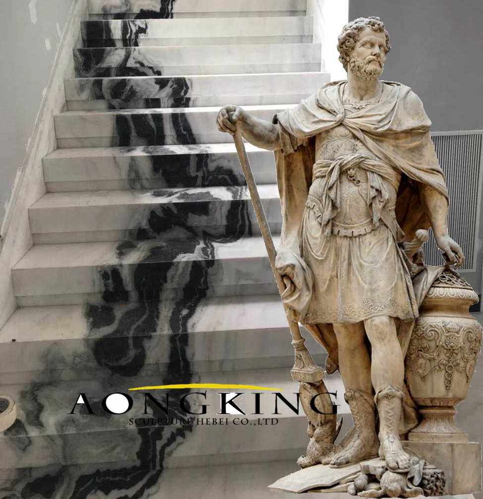Roman history statue