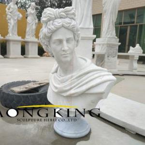 Apollo marble bust