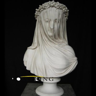 Bust of maria in a mask