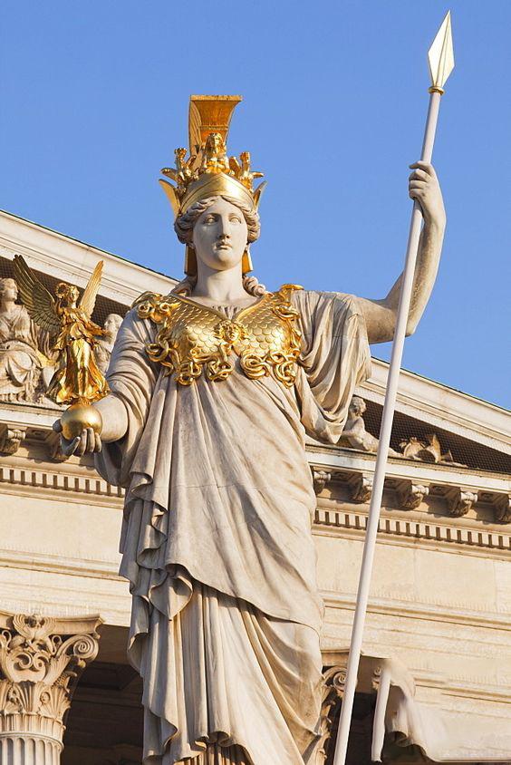 Greek Mythology Gods Athena