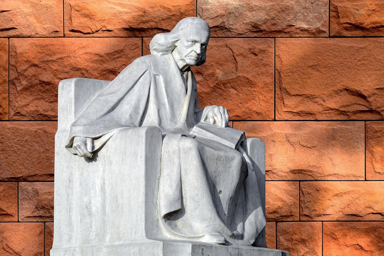 Sculpture Theodor Mommsen Historian Roman History