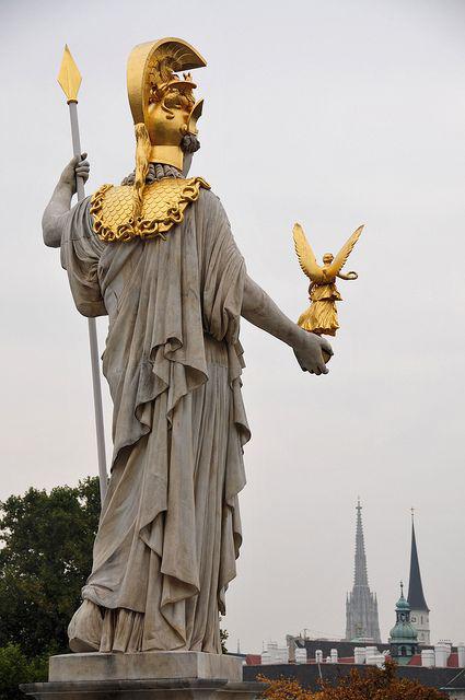 Statue of Parliament Vienna