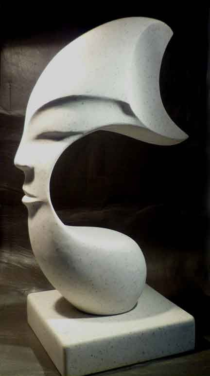 abstract statue