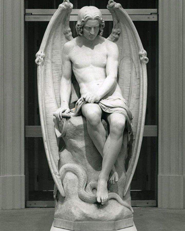 lucifer sculpture
