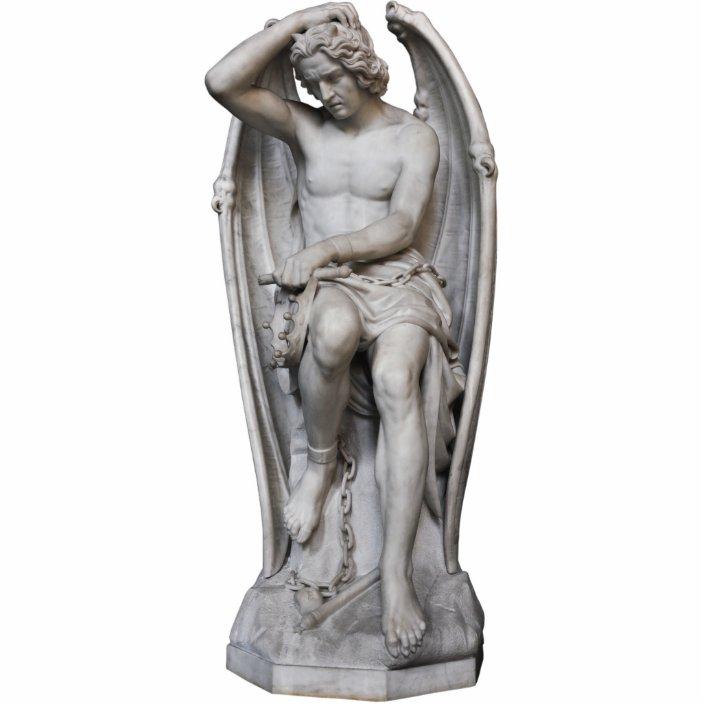 lucifer statue