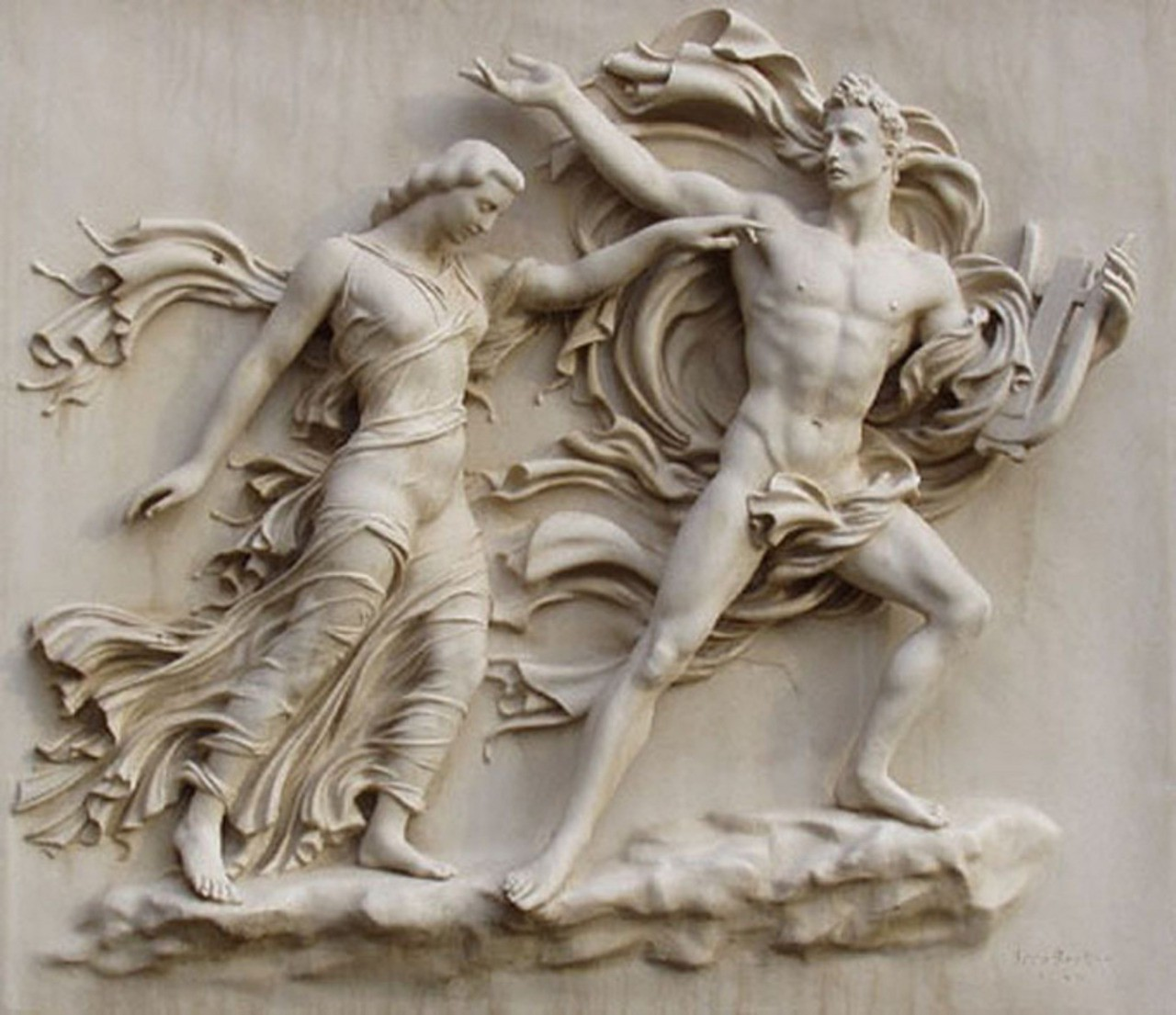 Bas relief art