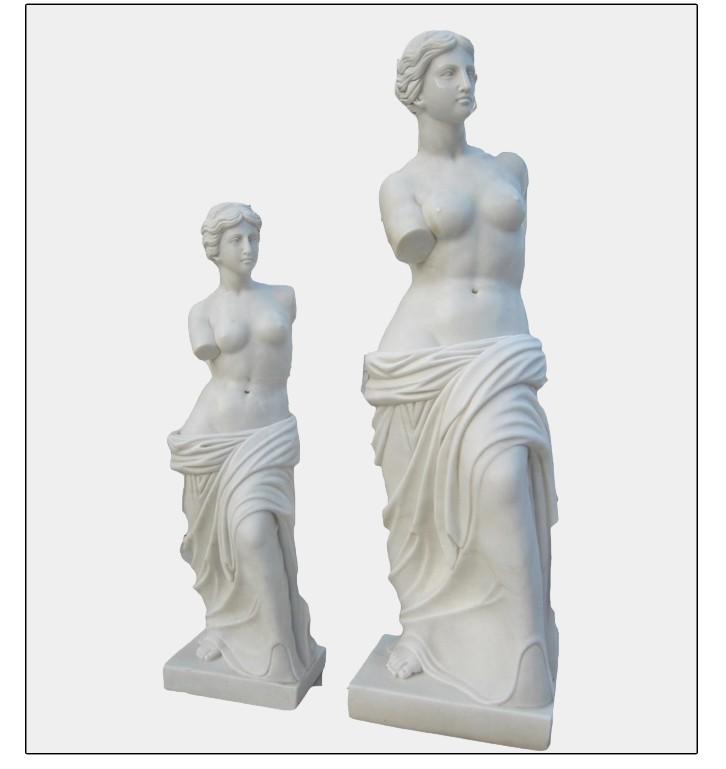 Venus de milo sculpture
