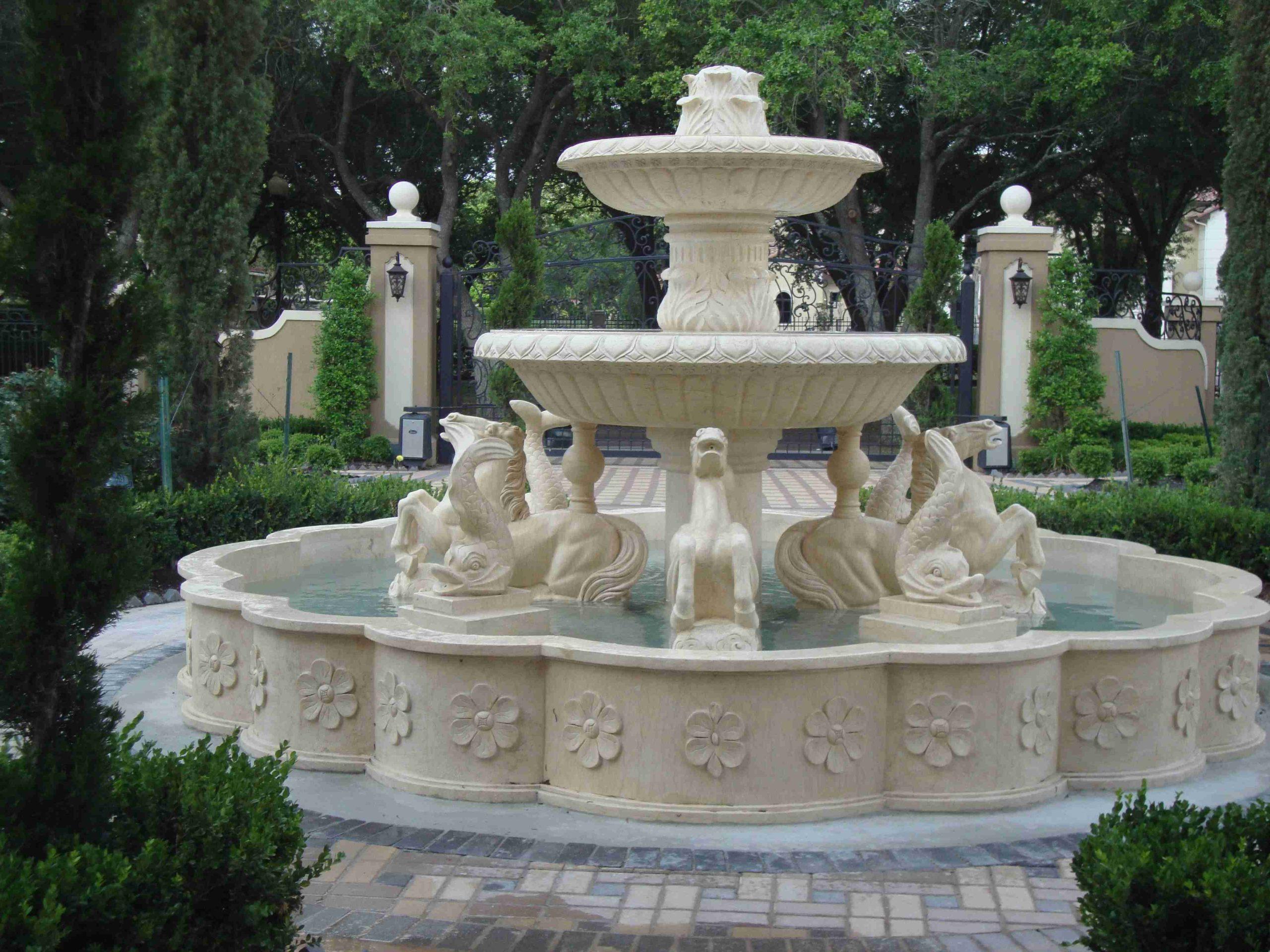 custom fountain