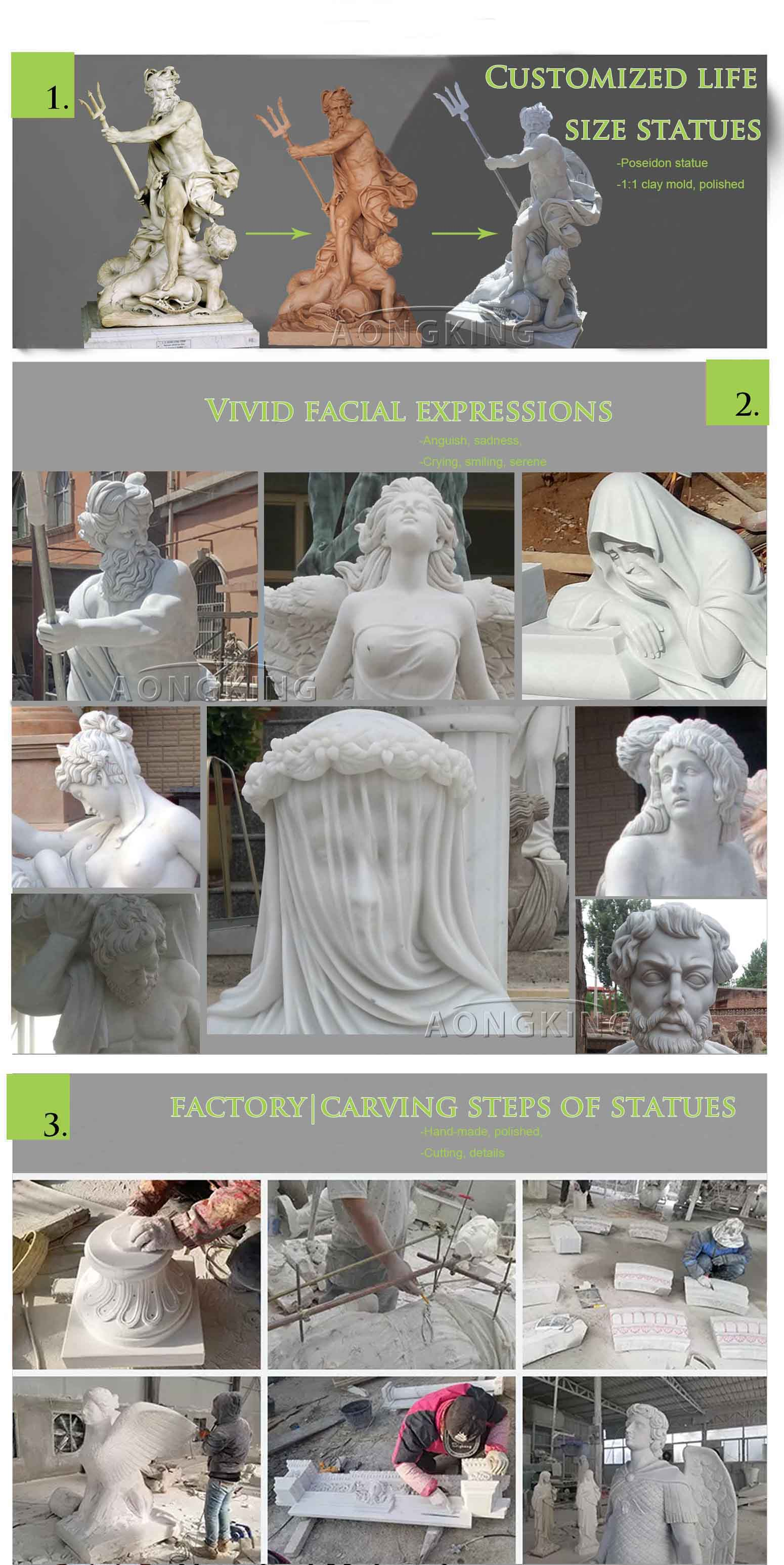 aongking marble statues