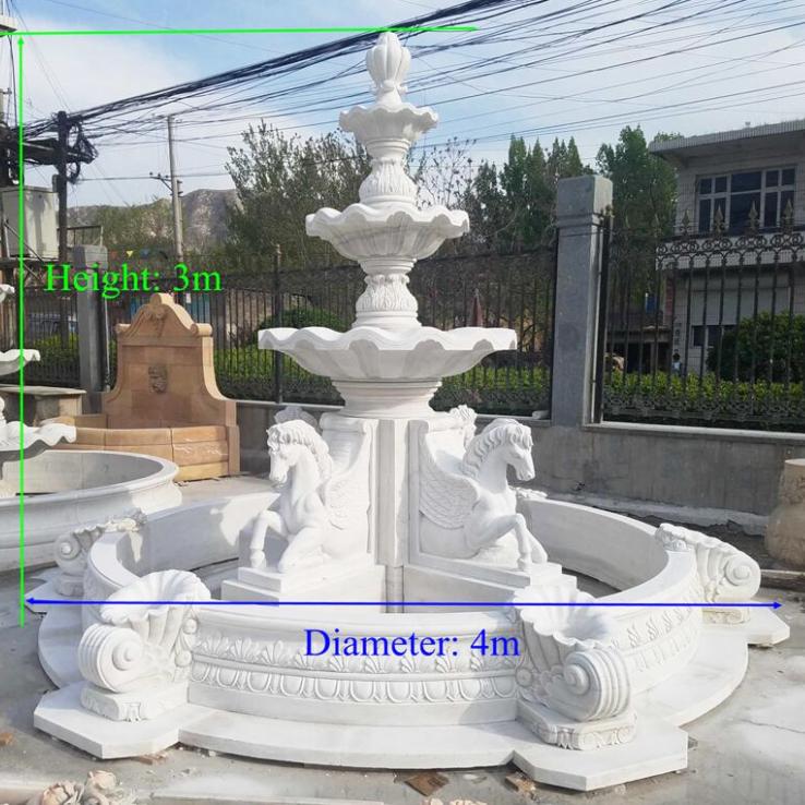 garden fountains for salehorse art