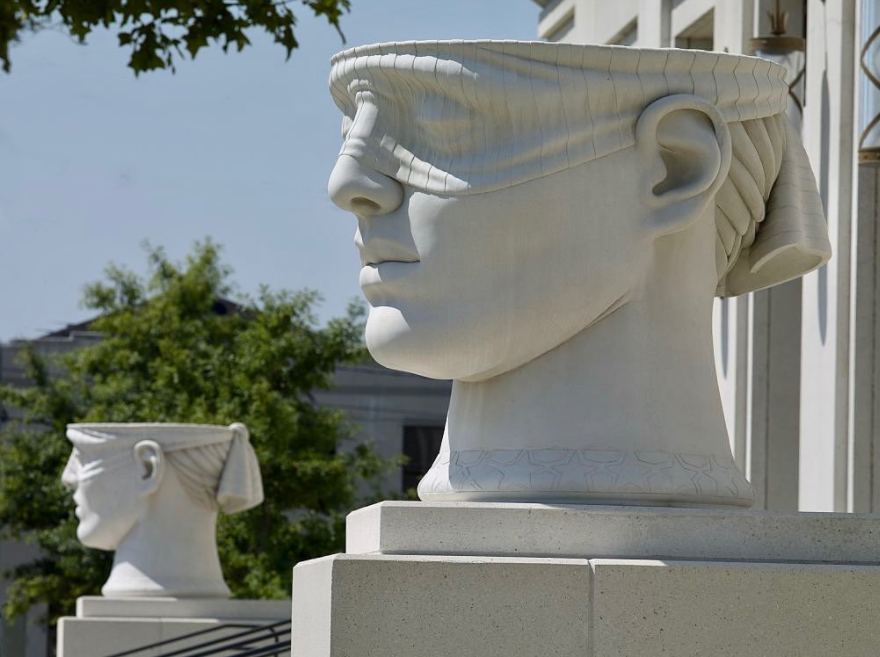 statue, Urns of Justice