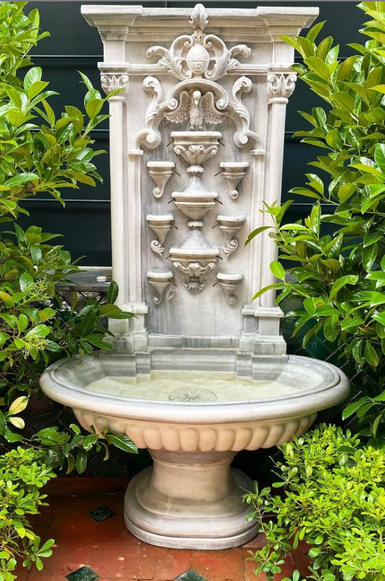 water features gardens waterfall fountain