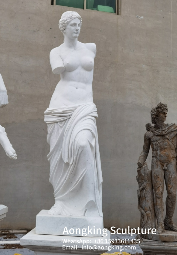3.Life size Venus do Milo Marble sculpture