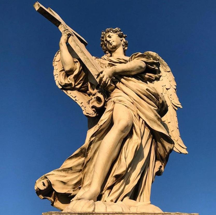 religous Guardian statue